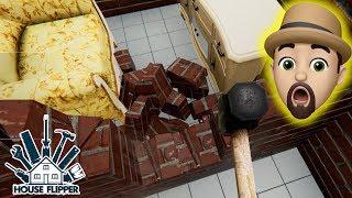 NEW HOUSE HAS A HIDDEN SECRET!! | House Flipper #5