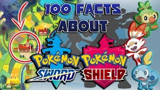 100 Facts About Pokémon Sword and Shield