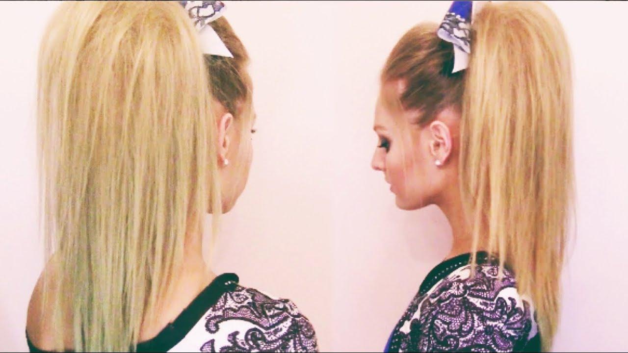 cheer hair bump