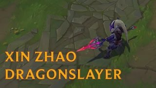 LOL PBE: Cận cảnh trang phục mới Xin Zhao Đồ Long