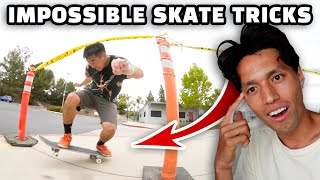 13 Impossible Manual Tricks! | June Saito