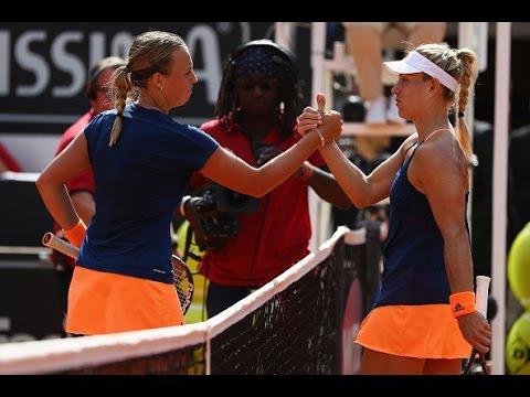 Angelique Kerber vs Anett Kontaveit