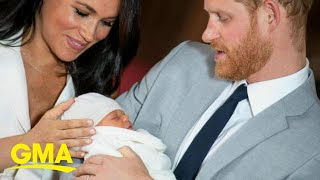 Harry and Meghan reveal new pic of baby Archie l GMA