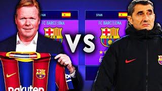 Ronald Koeman's Barcelona VS Ernesto Valverde's Barcelona - FIFA 21 Experiment