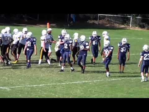 Carroll Middle Vs Daniels Middle School Raleigh Nc 2012 Pt