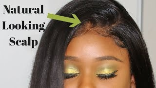 How To Style A Lace Frontal  - BEGINNERS | Wowafrican