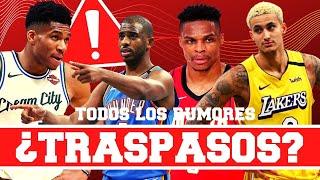 TODOS LOS RUMORES DE TRASPASO EN LA NBA