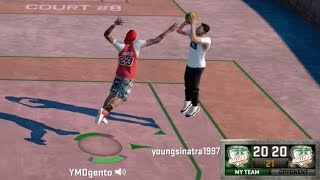 THE GSW CURSE!! CONTESTED GAME WINNER!! NBA 2K16 MyPARK