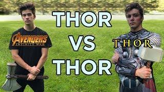 Thor vs Thor (Stormbreaker Vs. Mjolnir)