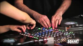 RANE SIXTY-FOUR  Mixer in action