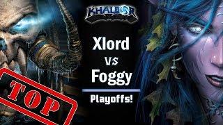 ► WarCraft 3: Xlord (UD) vs. Foggy (NE) - Endgame Gear Masters Playoffs
