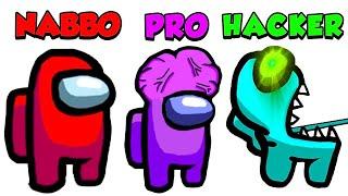 NABBO vs PRO vs HACKER su AMONG US!