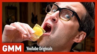 Raw Egg Eating Challenge #4 - Movie Edition
