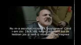 Hitler afla ca Ponta s-a mutat in buncar