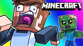 Minecraft Funny Moments - If Anyone Dies, The Game Ends! (Hardcore Mode)