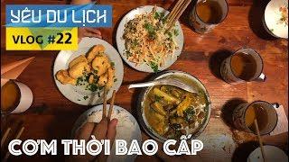 YÊU DU LỊCH #22: Ăn cơm thời bao cấp/Ngắm máy bay ở Nội Bài | Yêu Máy Bay