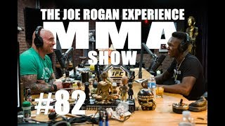 JRE MMA Show #82 with Israel Adesanya