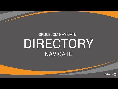 SpliceCom Navigate - Directory