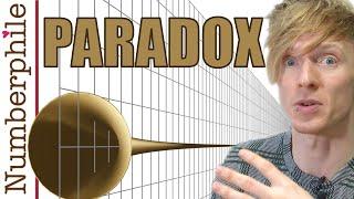 Gabriel's Horn Paradox - Numberphile