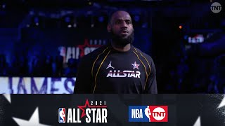 Team LeBron & Team Durant Are Introduced By HBCU Bands | NBA All-Star 2021