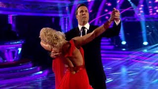 Michael Vaughan & Natalie Waltz to 'If You Don't Know Me By Now'- Strictly Come Dancing 2012 - BBC