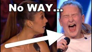 No WAY! 10 Y. O. Girl SHOCKS EVERYONE!