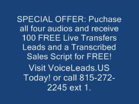 How To Sell Life Insurance Over the Phone by VoiceLeads.US.wmv