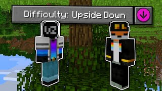 Minecraft, but it's UPSIDE DOWN! ft. Fundy