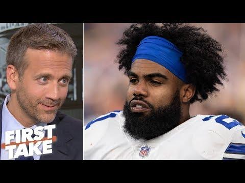 Zeke won't take the Cowboys to the Super Bowl - Max Kellerman | First Take