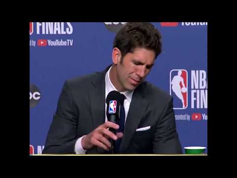 Bob Myers Fought Back Tears While Announcing Kevin Durant's Achilles Injury | NBA Finals