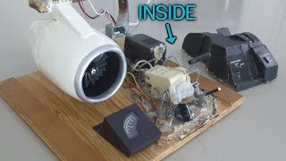 Homemade Electric Jet Engine Working Model (1:24 scale) Part 3