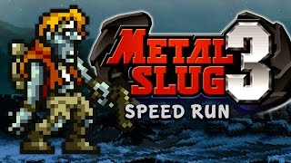 "METAL SLUG 3 - ""ALL SECRETS"" Speed RuN"
