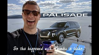 Hyundai Invited me to their 2020 Palisade Launch and it was NUTS!!! (Vlog)
