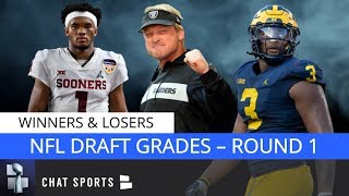 2019 NFL Draft Grades: Biggest Winners & Losers From The First Round Feat. Redskins, Bills & Giants