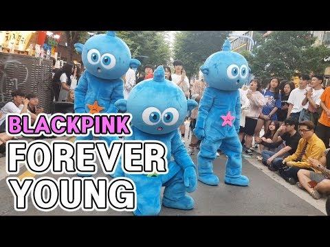 포에버영 | 블랙핑크 | FOREVER YOUNG | BLACKPINK | 스타티 K-pop 인형탈 댄스팀