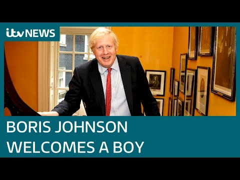 Congratulations flood in for Boris Johnson and Carrie Symonds on birth of baby boy | ITV News