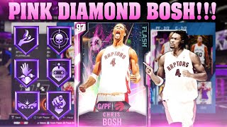 PINK DIAMOND CHRIS BOSH JOINS THE SQUAD! NBA 2K20 MYTEAM GRIND LIVE