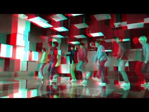 [REAL 3D] SuperJunior - Mr.Simple MV(LG Ver.) HD ft. F(x)'s Sulli & Victoria | ANAGLYPH VERSION