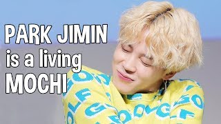 Park Jimin is a living mochi #HappyJiminDay
