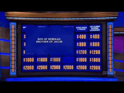 Bible Jeopardy Questions