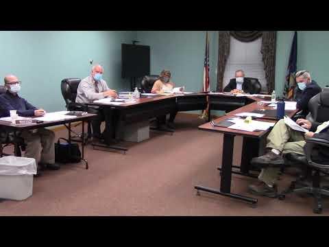 Champlain Town Board Meeting  11-10-20