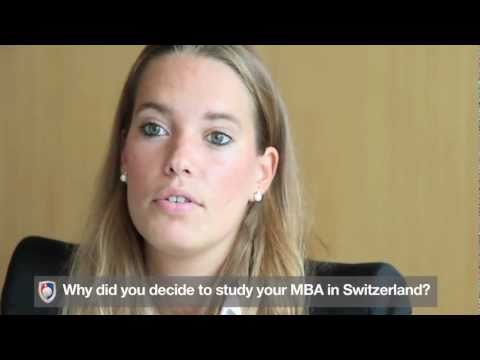 Glion Institute of Higher Education - Student Testimonial (Nadine Klein MBA)