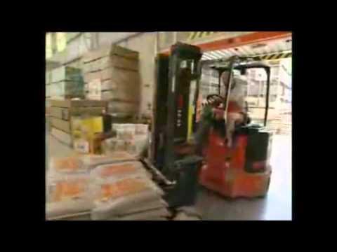 Bendi forklift truck