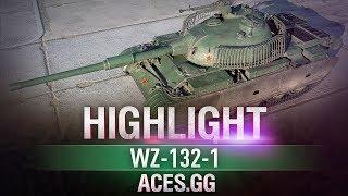 Легкий танк Чака! WZ-132-1