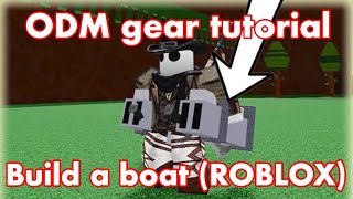 How to make ODM gear in build a boat for treasure / Roblox tutorial