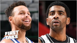 Steph Curry vs. Kyrie Irving: Who is a better shot-maker? | First Take