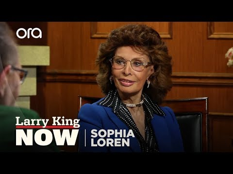 Sophia Loren Discusses Memoir, Clark Gable and More with Larry King Now