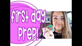 Getting Ready for the First Day of School | 2018-2019
