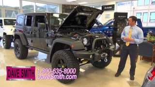Custom 2014 Jeep Wrangler Unlimited Rubicon with a 6.4L HEMI  at Dave Smith Motors