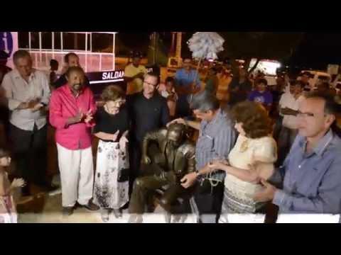 Inauguração da Estátua de João Gilberto em Juazeiro-BA